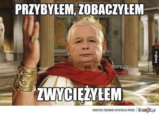 Kaczyński cezar