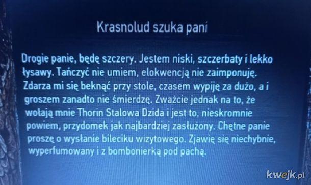 Thorin Dębowy Pal zostawia drzazgi
