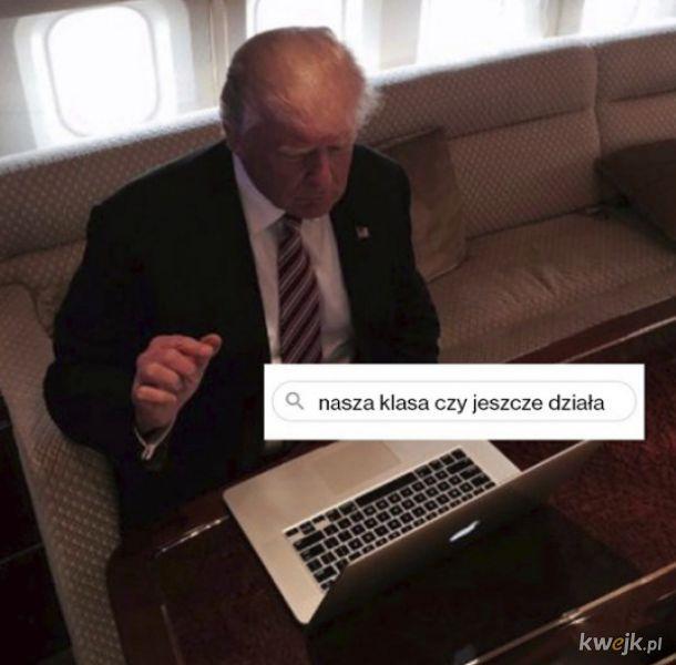 Memy internautów po zablokowaniu Trumpa w social mediach