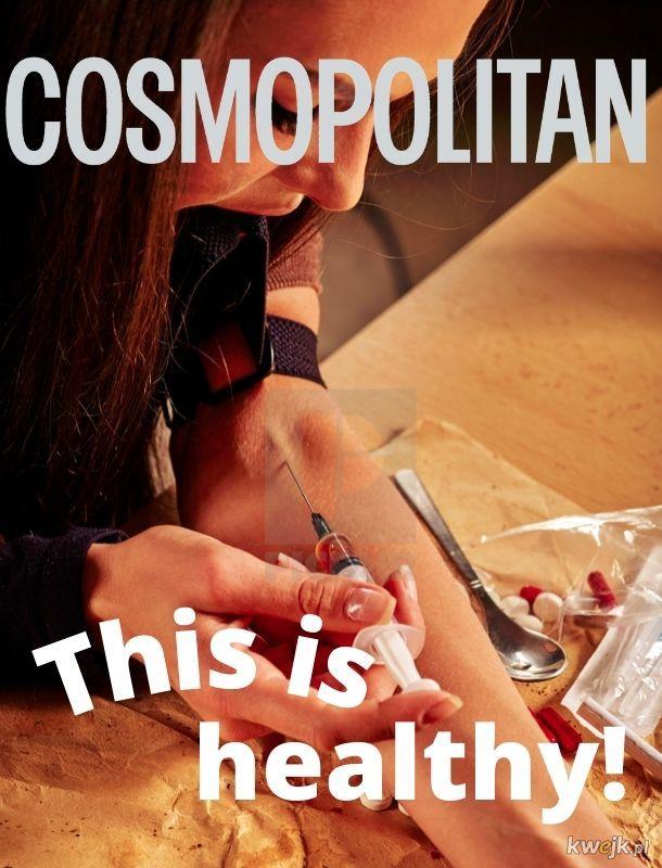 Oj, Cosmo, Cosmo...