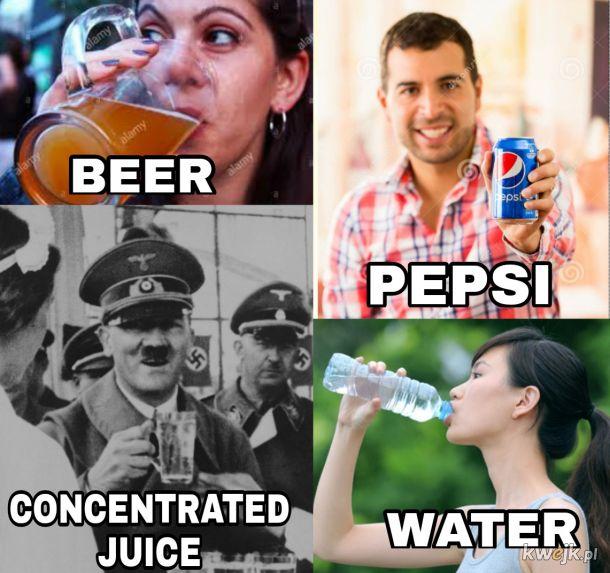 Jaki jest wasz ulubiony napój?