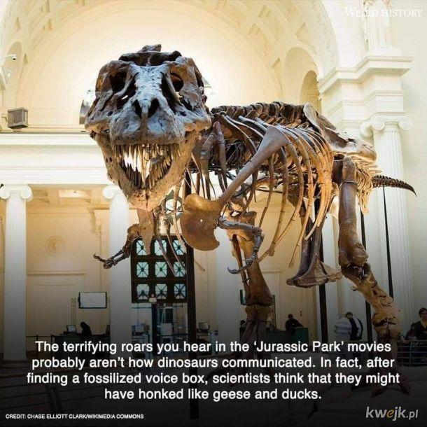 Gęgające dinozaury
