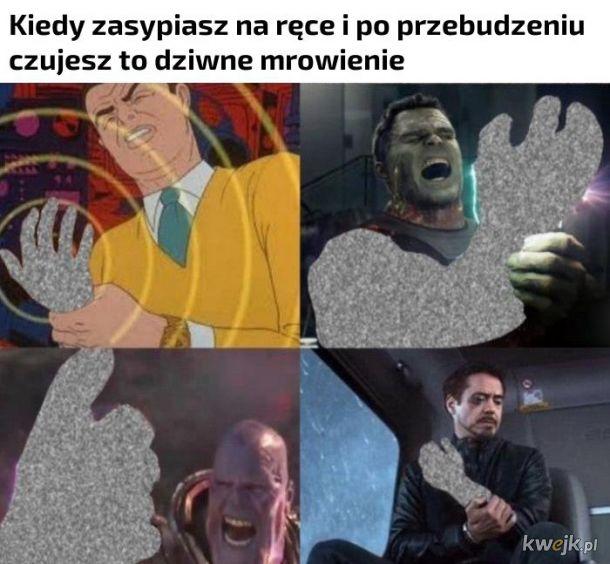 Mrowienie w rękach
