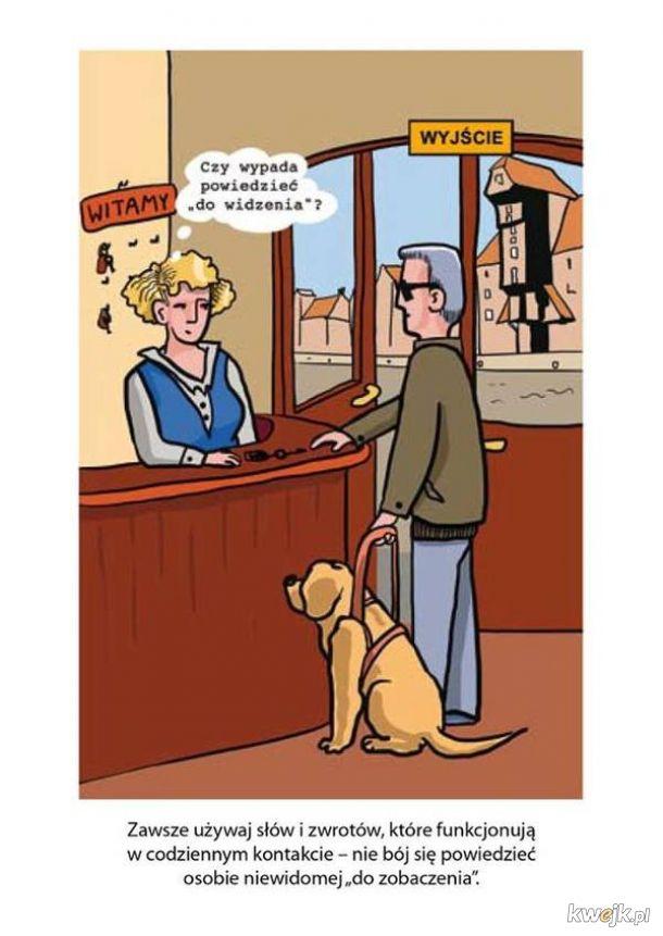 Poradnik savoir-vivre: jak zachować się wobec osób niepełnosprawnych, obrazek 13