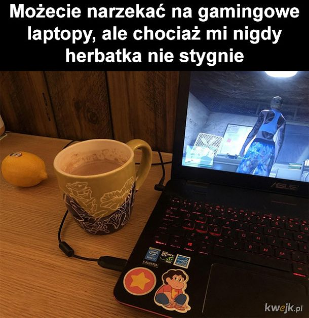 Gamingowy laptop