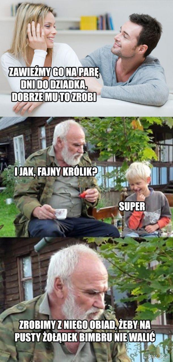 Wyjazd do dziadka
