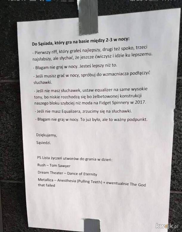 Apel do sąsiada