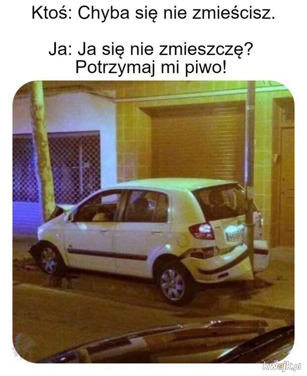 Bo parkować to trzeba umieć