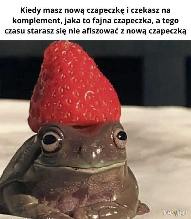 Fajna czapeczka