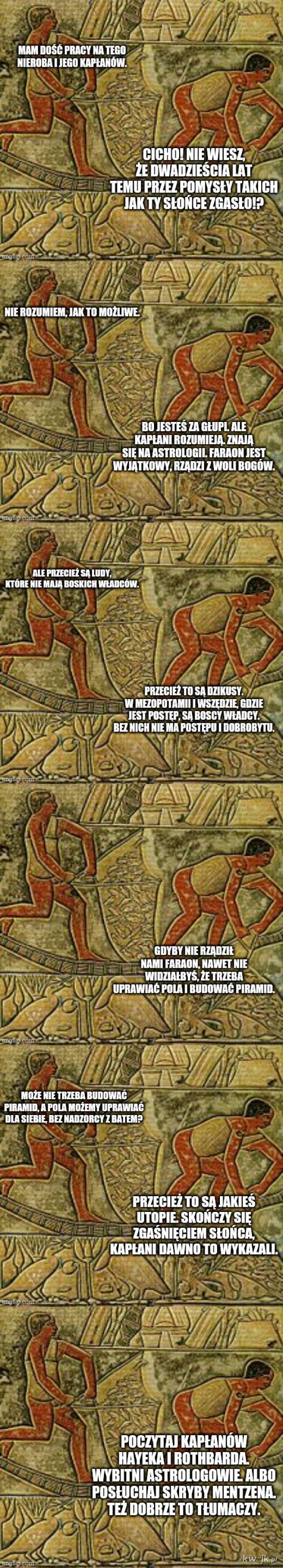 W starożytnym Egipcie nad Nilem