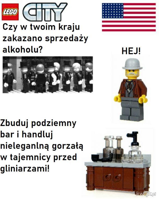 Lego z prohibicją