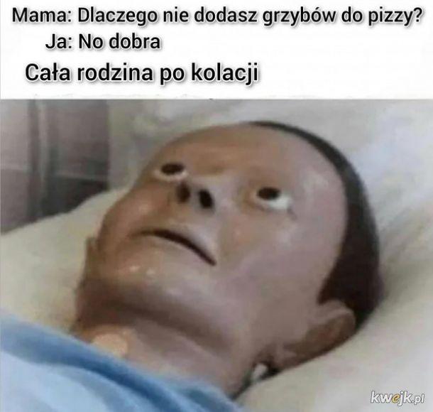 Grzyby do pizzy