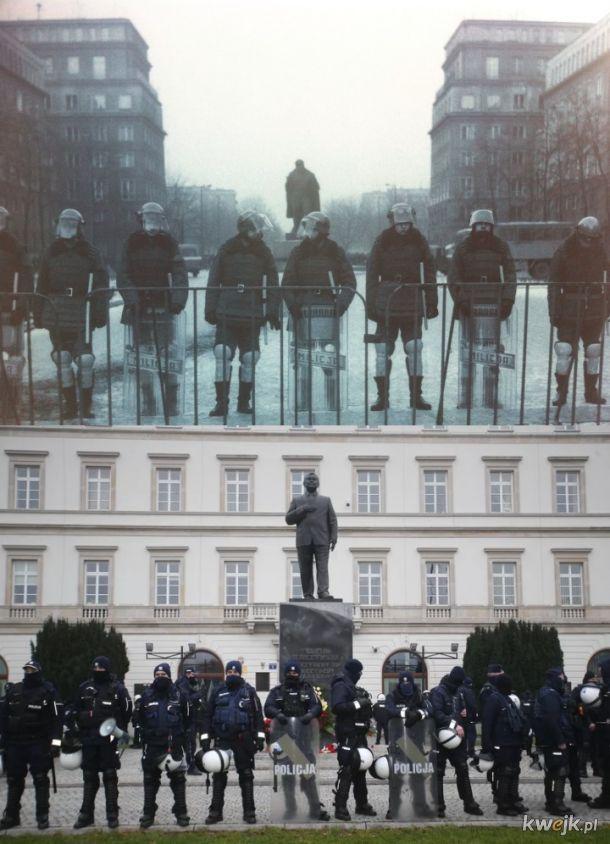 1989 vs 2021; Lenin vs Kaczyński; Milicja vs Policja; historia niewiele nas nauczyła