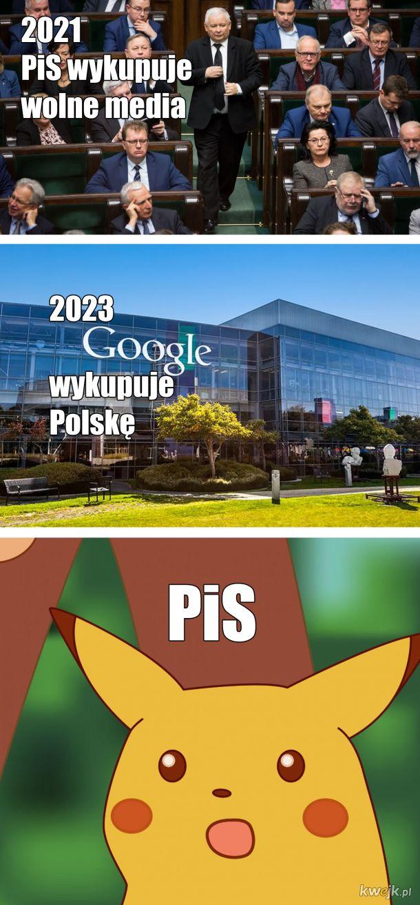 2021 PiS wykupuje wolne media