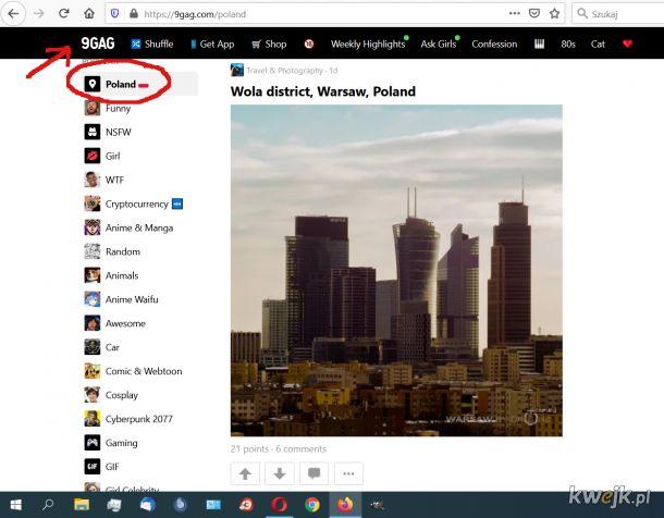 Polska w świecie coraz popularniejsza:)