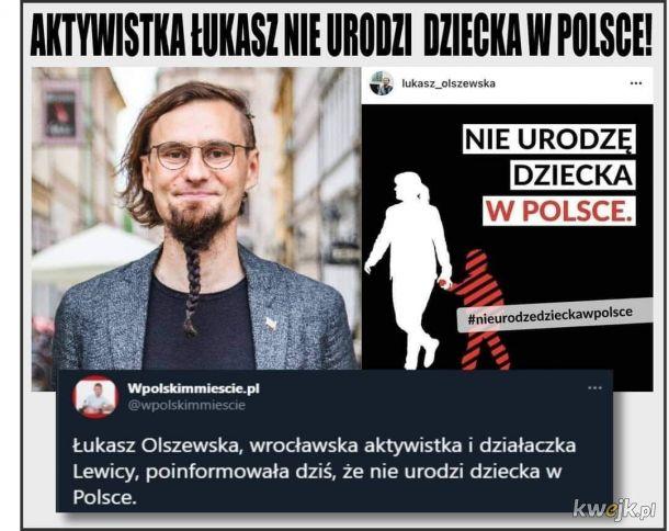 Twoja dziewczyna w Polsce rodzić nie będzie