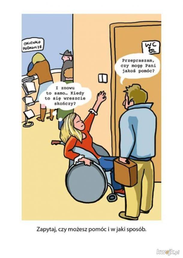 Poradnik savoir-vivre: jak zachować się wobec osób niepełnosprawnych, obrazek 5