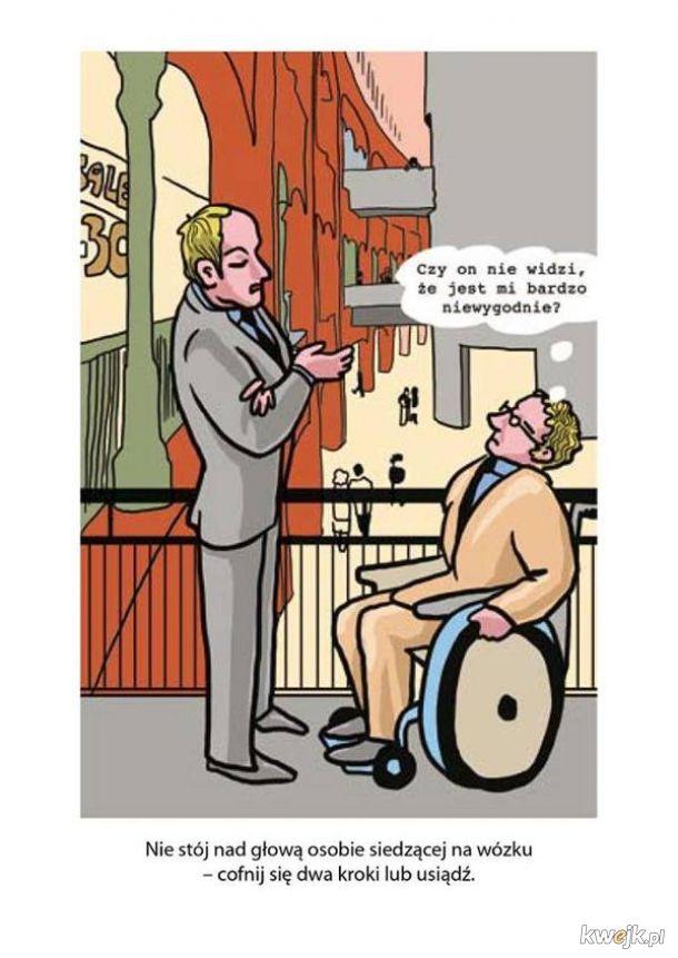 Poradnik savoir-vivre: jak zachować się wobec osób niepełnosprawnych, obrazek 18