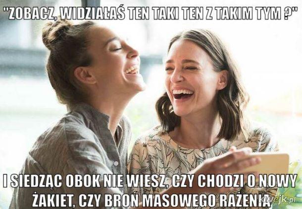 Gdy żona rozmawia ze swoją siostrą