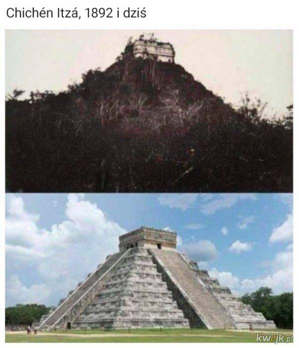 """Historyczne """"kiedyś i dziś"""""""