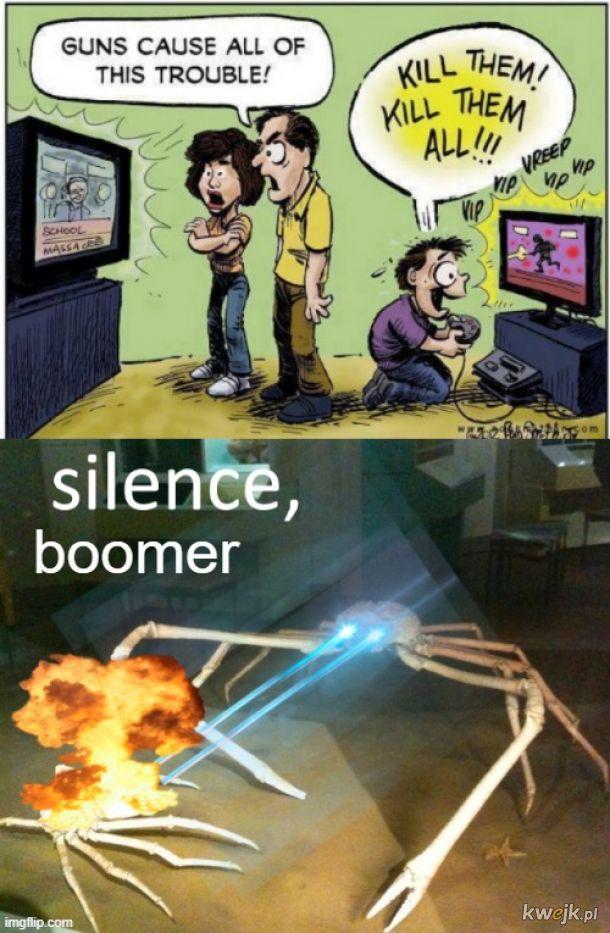 silence boomer