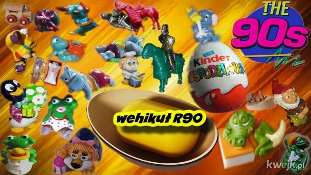 Zabawki Z Kinder Niespodzianki Lata 90 Te
