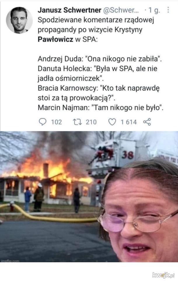 Pawłowicz w spa