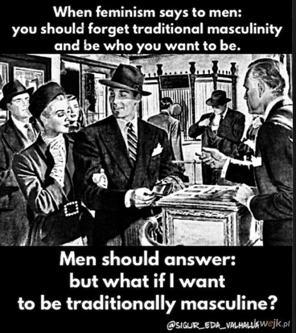 Odpowiedź na feminizm