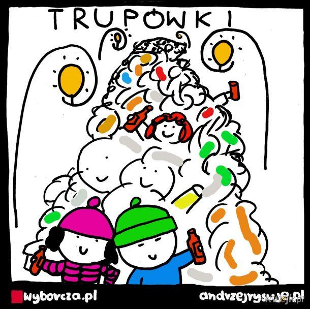 W weekend na Krupówkach było ponoć więcej tyrystów niż koronawirusów.