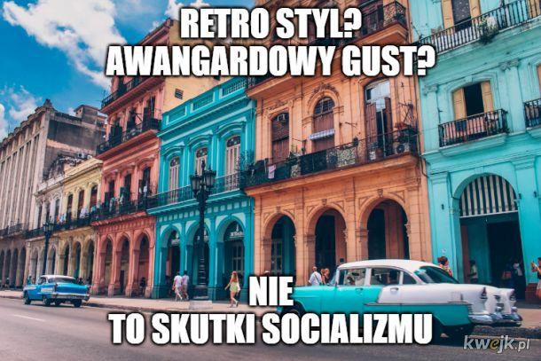Kuba, dzisiaj zacofana