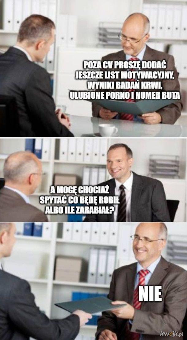 Dowie się pan na 5 etapie rekrutacji, elo