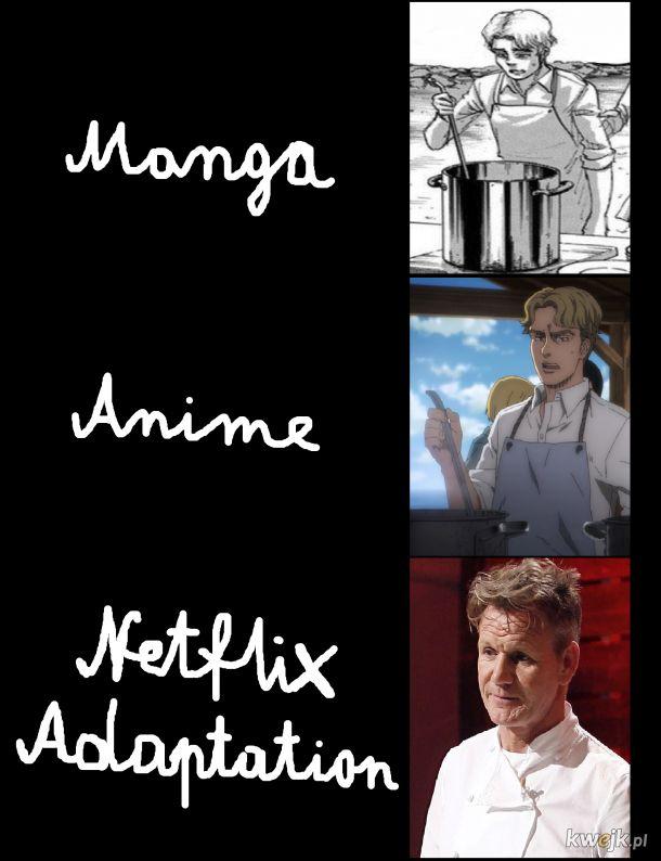 Ahh te adaptacje
