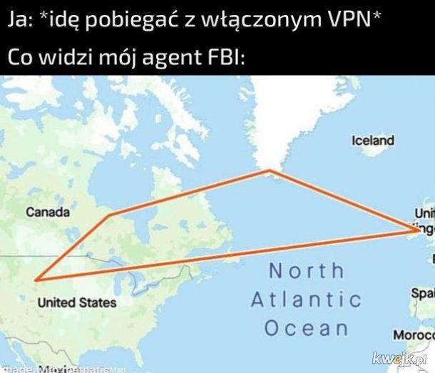 Bieganie z VPN
