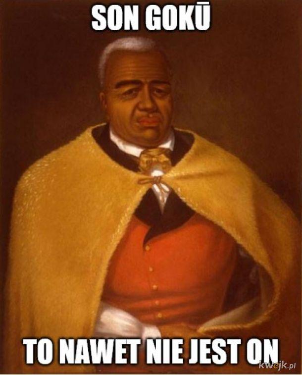 Kamehameha I, przywódca jednego z wielu królestw hawajskich