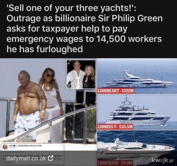 Biedny zlodziej-miliarder