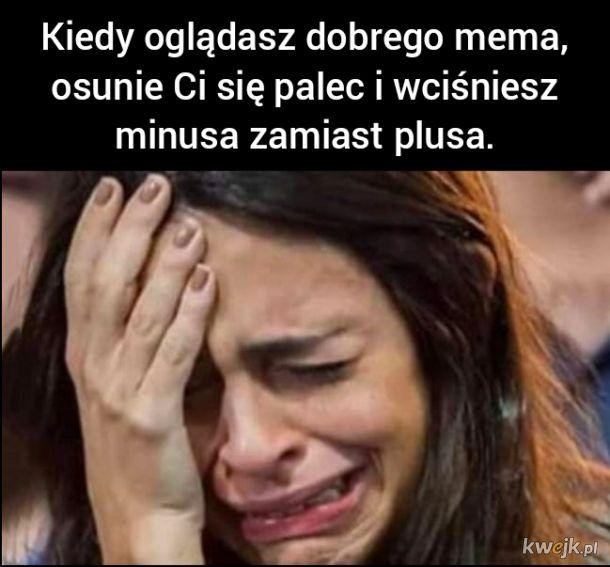 Wielki ból...