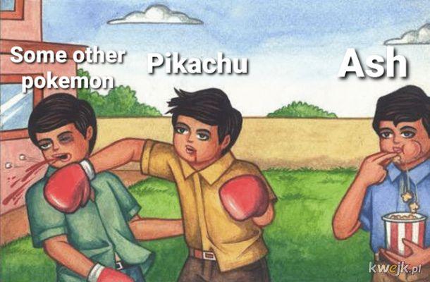 przeciętna walka pokemon