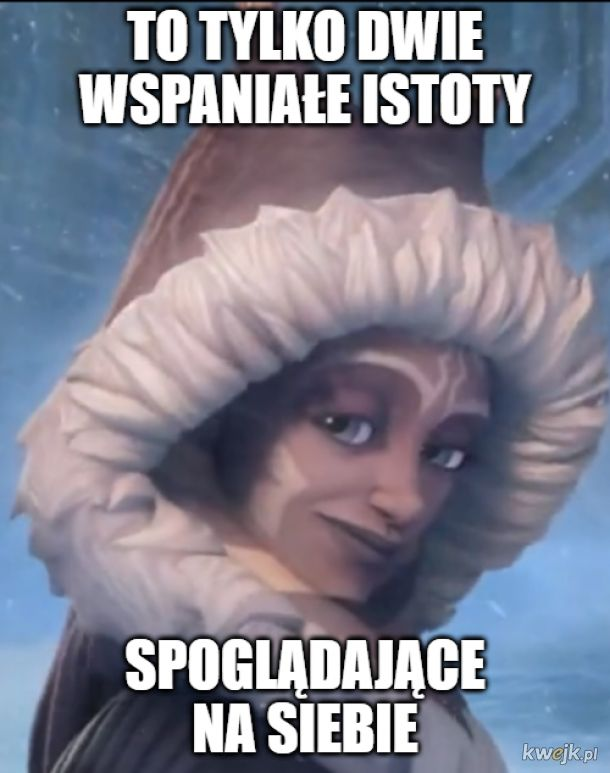 Chyba pierwszy raz zrobiłem wholesome mema