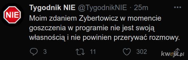 Zybertowicz podczas wywiadu nie jest swoją własnością