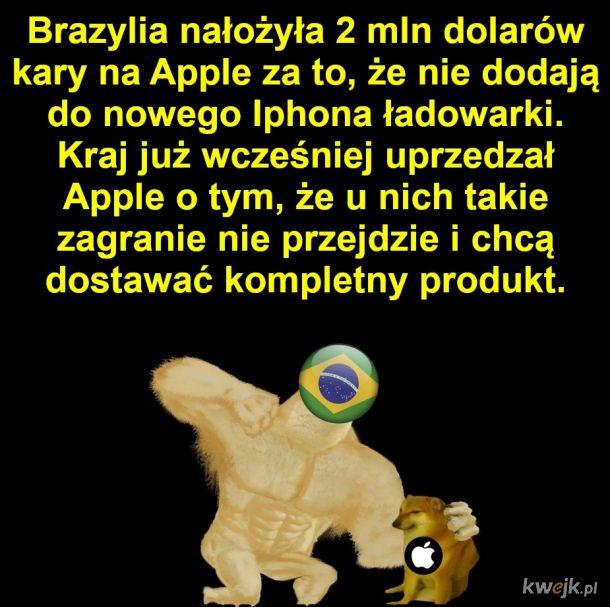 No to Apple zabuli hajs