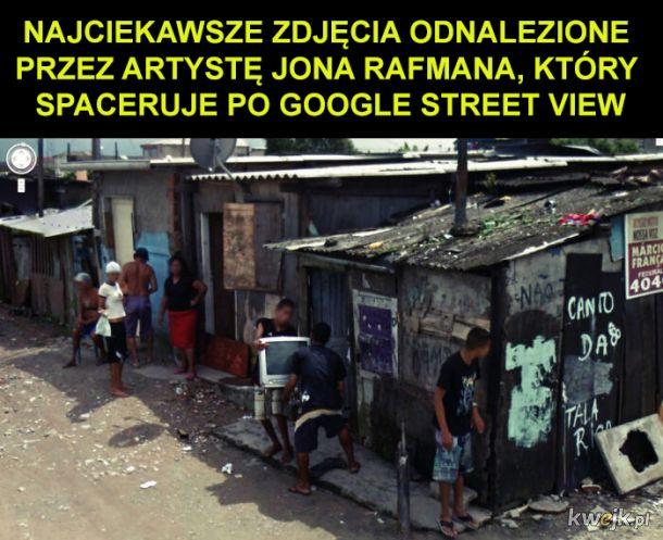 Najciekawsze zdjęcia z Google Street View