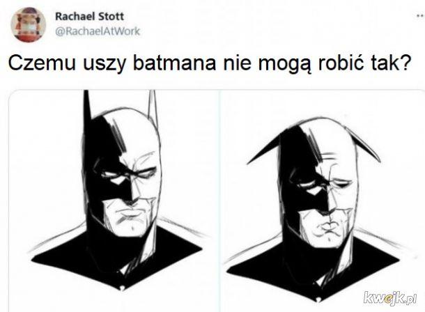 Smutny batmanek