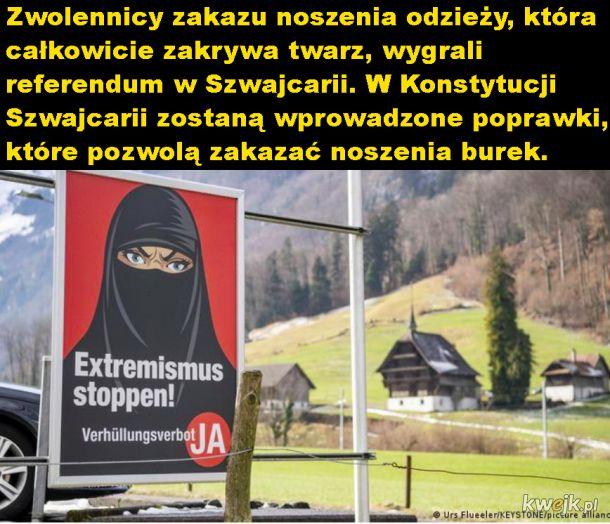 Burki zakazane w Szwajcarii