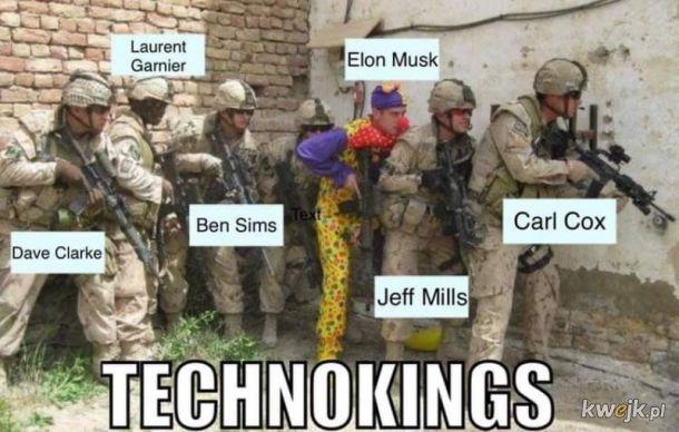 Elon Musk Techno Król