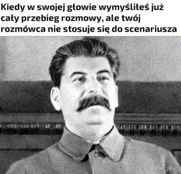 Zdziwiony Stalin