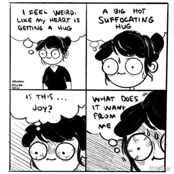 Przerażająca radość