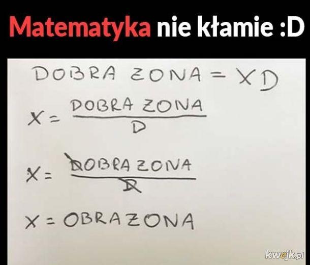 Proste równanie.