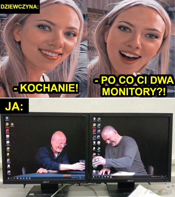 Po co Ci dwa monitory?