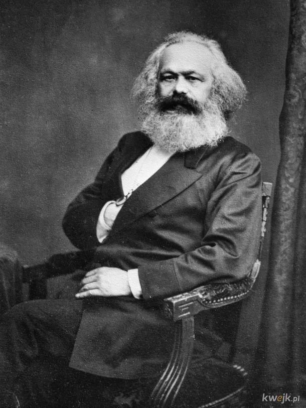 14.03.1883 roku umarł Karol Marks. Jako, że o zmarłych mówi się albo dobrze albo wcale wieć dobrze, że umarł. :)