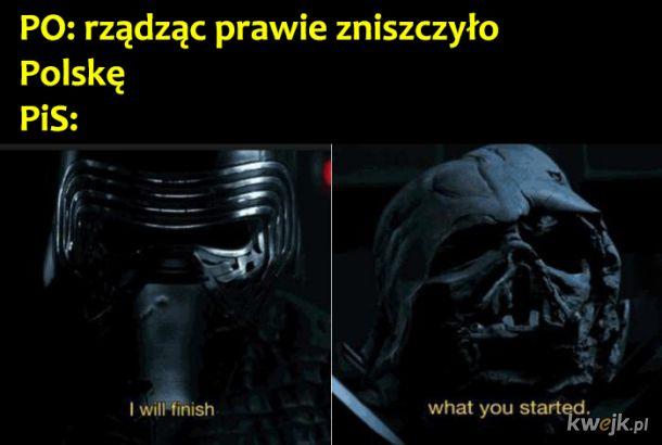 Niszczenie Polski